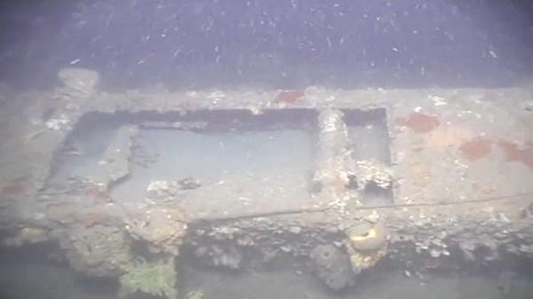 Batık denizaltı E7 görseli