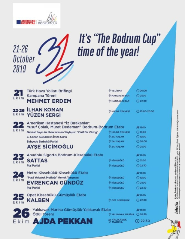 The Bodrum Cup Program